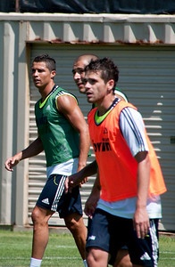 CR7,Benzema and Gago.