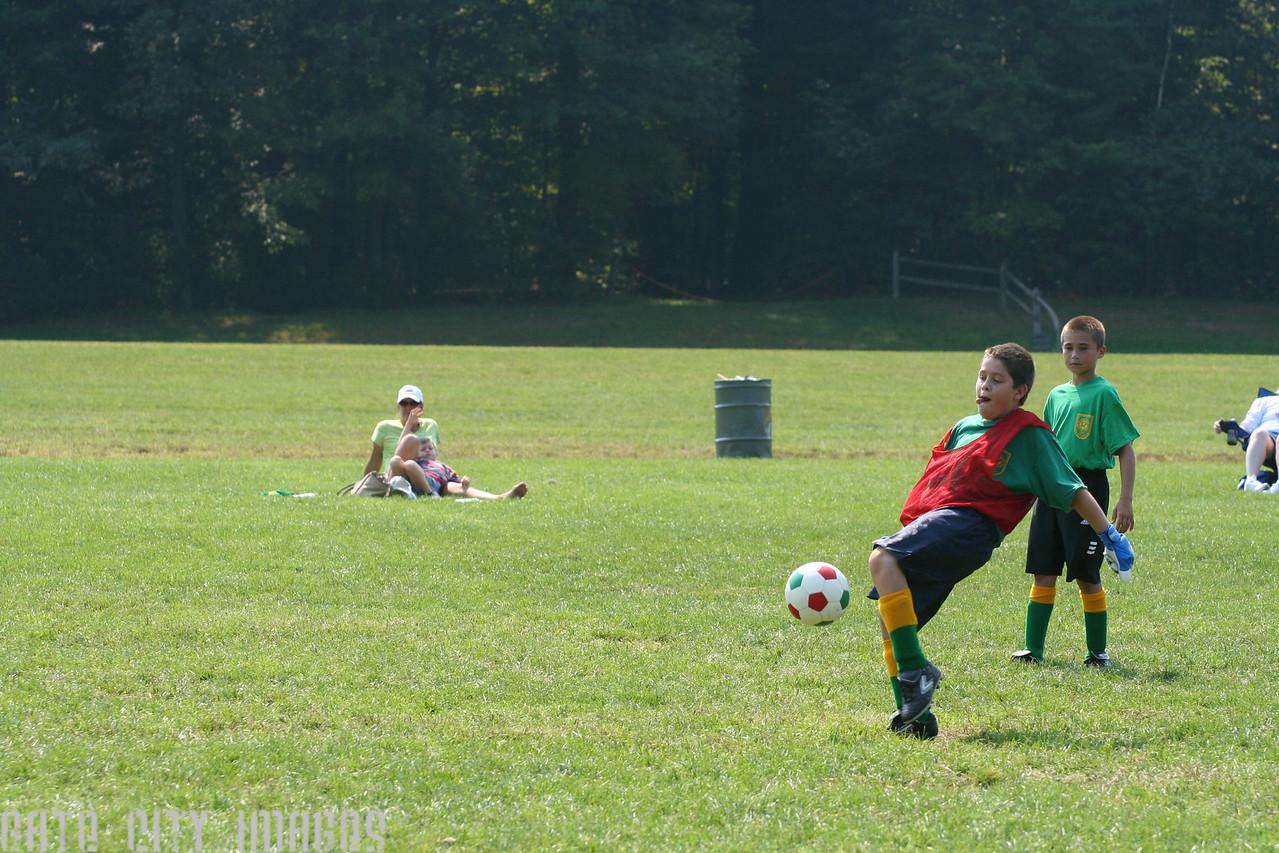 IMG_0983 Garret kick rec league soccer by M Frechette