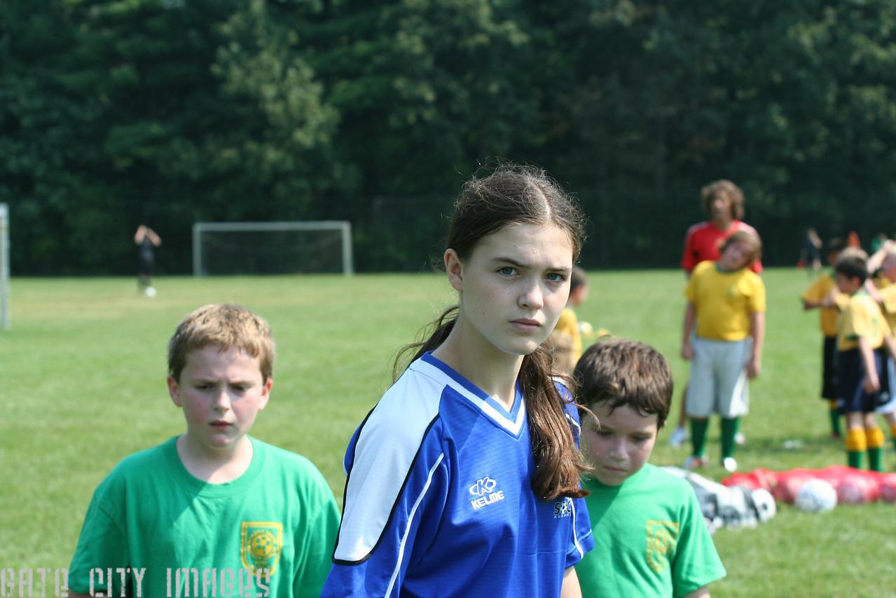 IMG_0978 Kristin coach rec league soccer by M Frechette