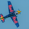 Peter Besenyei of Hungary in a Corvus Racer at the Red Bull Air Race season opener in Abu Dhabi, UAE on Saturday 14th February, 2015. Photo by: Stephen Hindley©