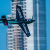 Canadian Pete McLeod of Garmin Racing in an Edge 540 at the Red Bull Air Race season opener in Abu Dhabi, UAE on Saturday 14th February, 2015. Photo by: Stephen Hindley©
