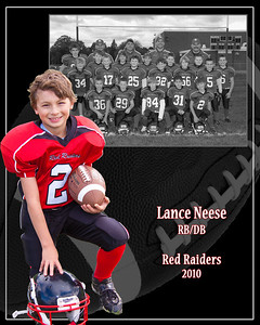 Sample Team/Player Composite with black and white team photo