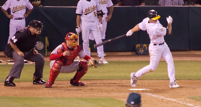 Strike 3... Sox win!