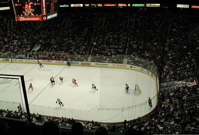 Red Wings at Coyotes 2002