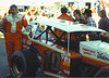 """Lou Blaney stands with his famous # 10 at Syracuse in 1981 as son Dave gets in the photo standing behind the 10.<br /> Photo by Mike Feltenberger<br />  <br /> Mike Feltenberger<br /> Publisher / Editor : Strapped In Magazine<br /> Slingshot by Tobias Event Organizer<br /> Host of BCTV's Strapped In TV Show<br /> Racing photographer<br />  <a href=""""http://www.strappedinracing.com"""">http://www.strappedinracing.com</a><br />  <a href=""""http://www.speedwayentertainment.com"""">http://www.speedwayentertainment.com</a>"""
