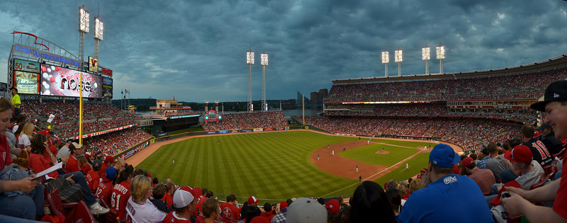 Panorama April 30, 2011, Cincinnati Reds, Great American Ball Park