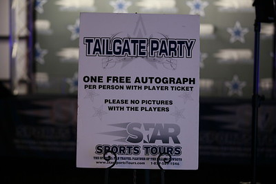 Redskins at Cowboys 2016 Tailgate