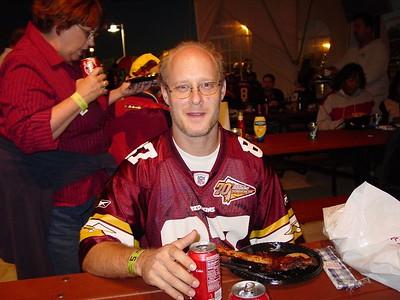 Redskins/Ravens 10/9/2004