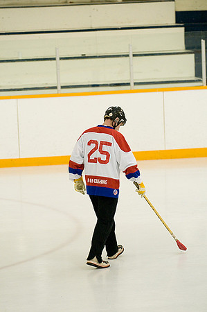 Redvers Broomball Game