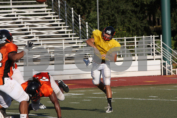 Reedley College Football scrimmage