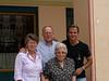 La familia de Gustavo acompañandole en el día tan esperado