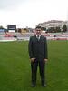 Aparicio en el campo de Terrasa. Terrassa - Sabadell. Temporada 2005-2006