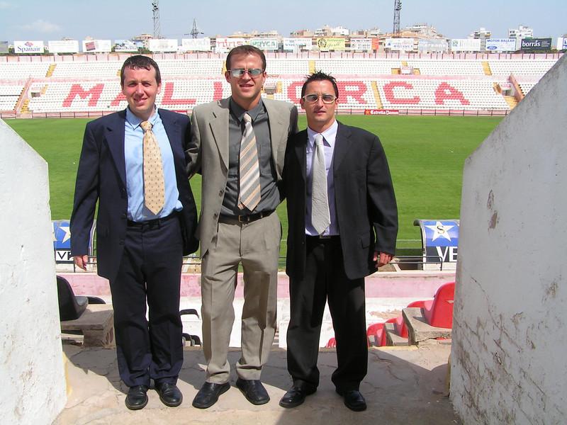 Lluis Sitjar, Malorca B - Rayo Vallecano Temporada 2004-2005