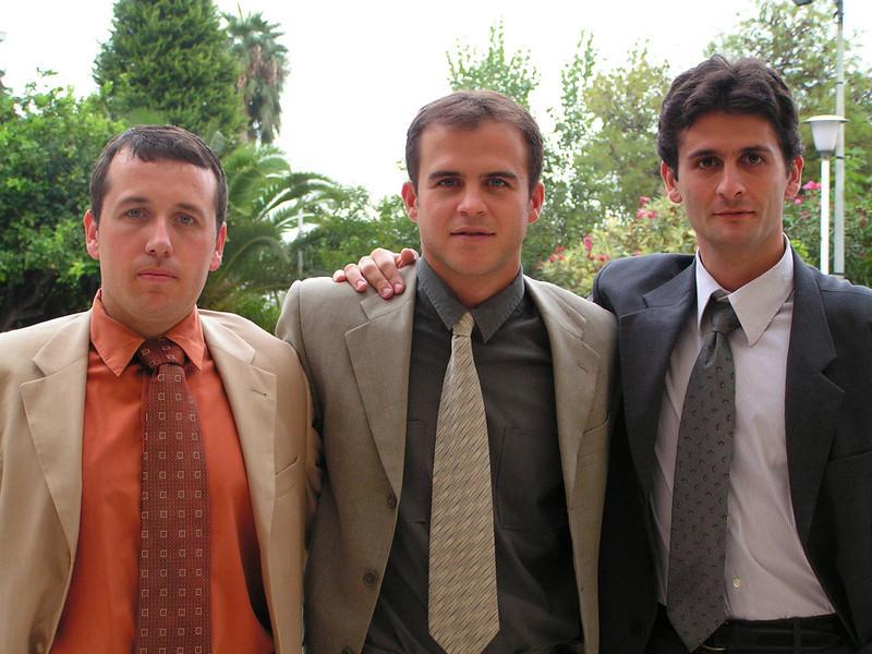 Partido de Copa del Rey Castellon - Peralta Temporada 2004-2005. Gustavo, Miranda y Carrasco