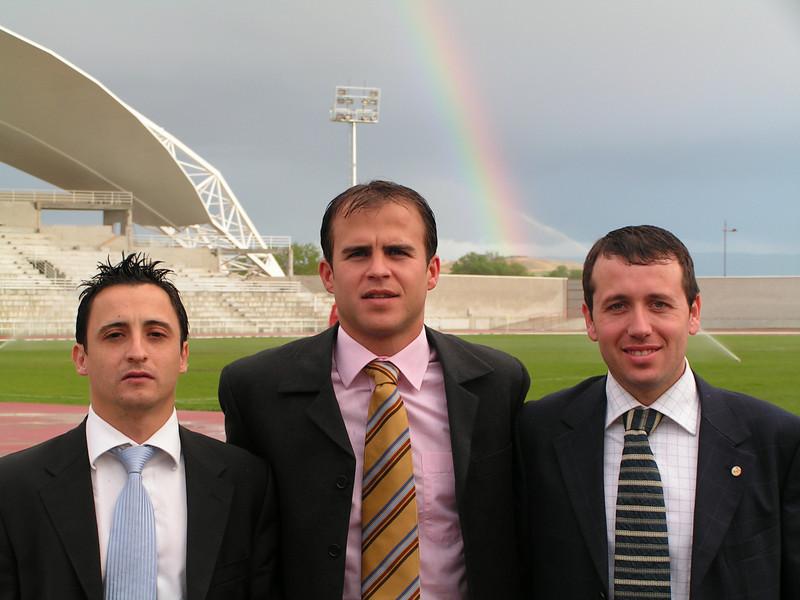 Gustavo, Segura Chacon y Carrasco, en Haro Temporada 2004-2005