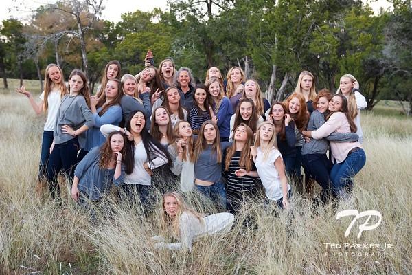 2014 Soccer Girls Team Photos