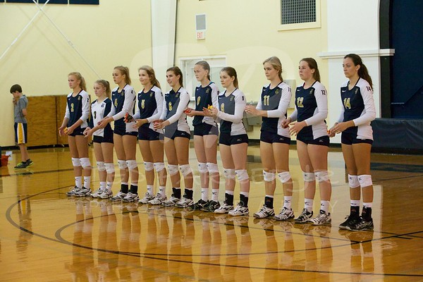 Regents Volleyball Varsity 2013