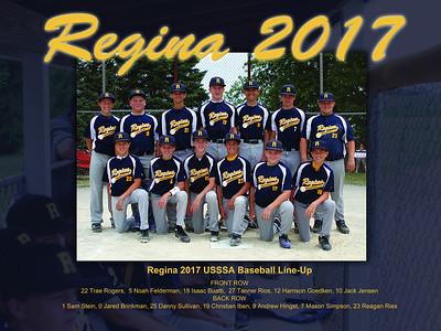 Regina 2017 Baseball