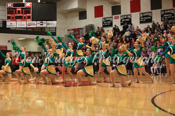 Oshkosh North Pom 01/27/18