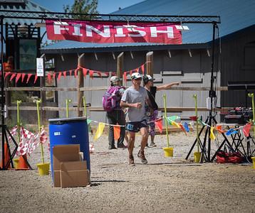 Tony finishes about 20 minutes later.  Photo:  Dondi