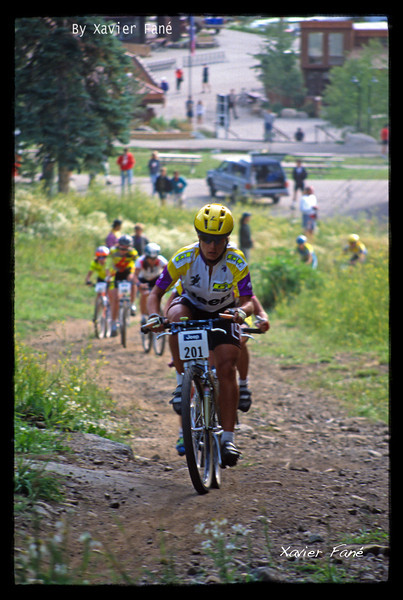 Juli Furtado crushing the field at the 92' NORBA Nationals in Durango