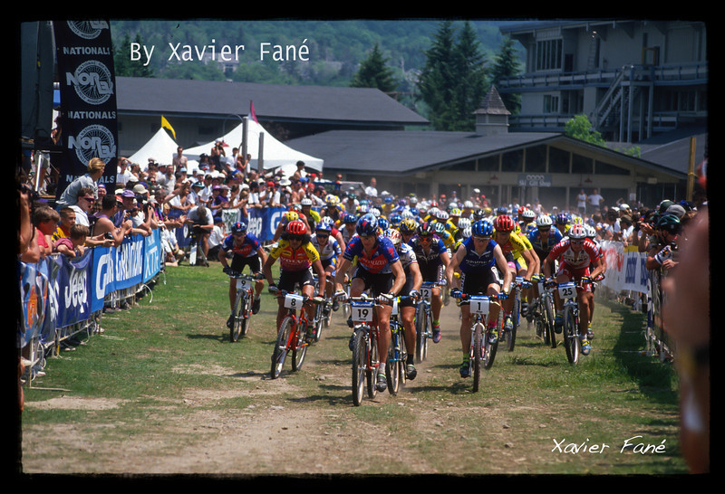Start of Grundig World Cup/Norba Series in Mt Snow, VT , 1992'