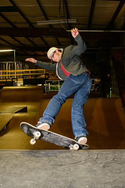 Will - 5-0 to Fakie - Revert Skatepark Feb 2013