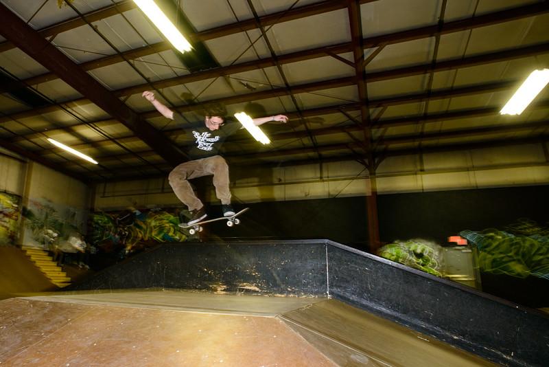 Jeremiah at Revert Skatepark Feb 2013