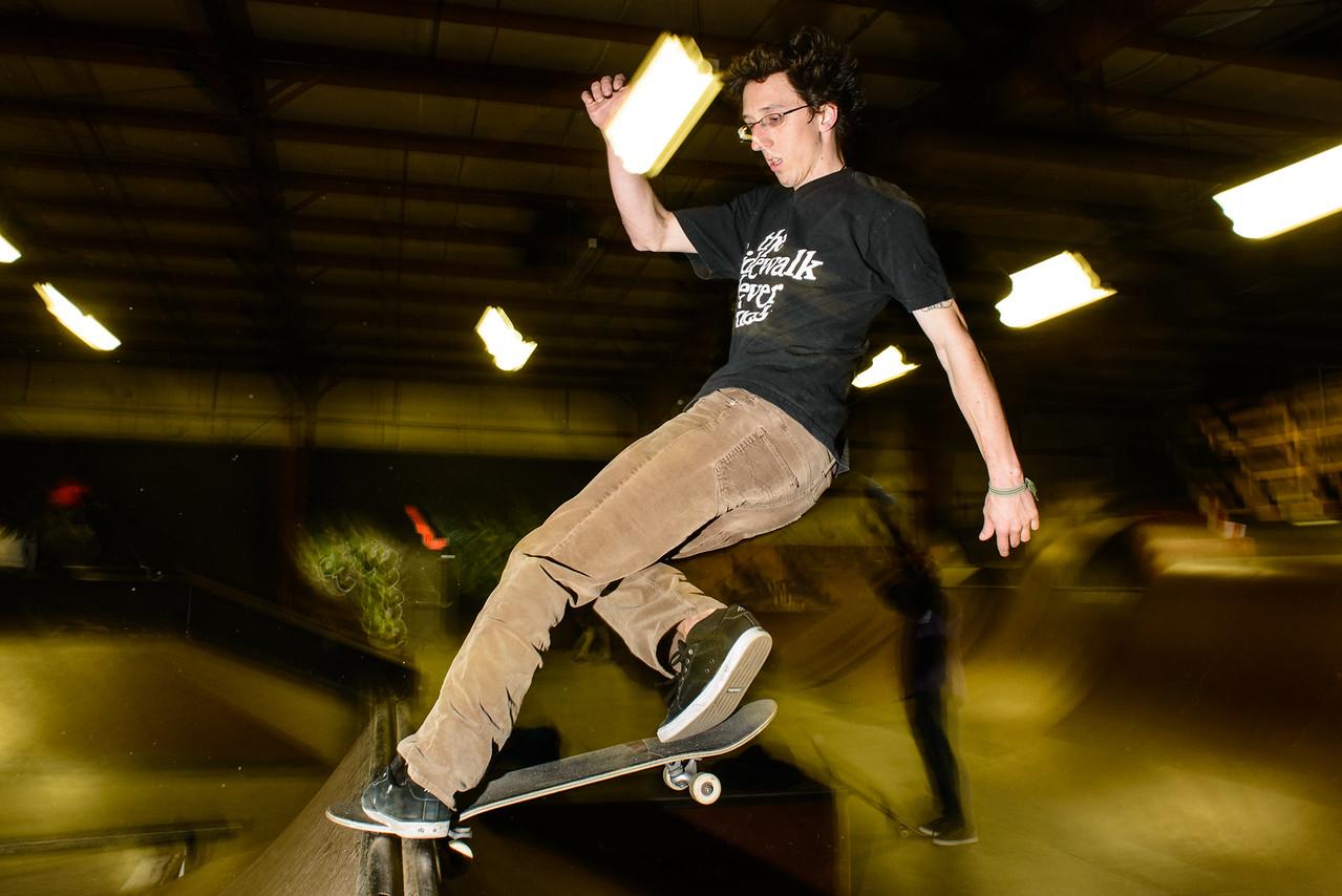 Jeremiah - nose stall revert - Revert Skatepark Feb 2013