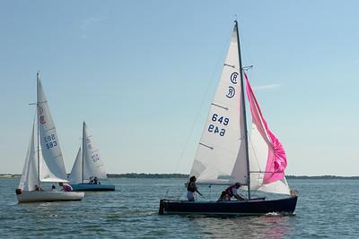 Rhodes 18 Racing-Barnstable Harbor 7/19/09