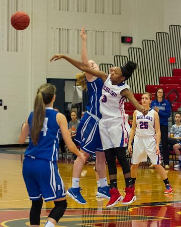 Richland vs Bedford Girls JV Basketball