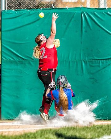 Richland vs Westmont - Varsity Softball