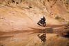 Mirror Image while Riding the Slick Rock - Dual Sport Utah - Photo by Pat Bonish