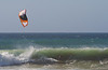 Tubes for Breakfast on the Kite Board at Jamala Beach - Photo by Pat Bonish