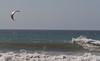 Backside Carving on a Kite Board at Jamala Beach - Photo by Pat Bonish