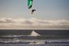 Sunset Swells - Kite Boarding at Jamala Beach Claifornia - Photo by Pat Bonish