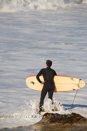 Riding the Swells at Jamala Beach - California 2009