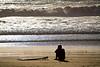 Waiting for the Swell - Jamala Beach California - Photo by Pat Bonish