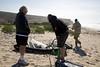 Pumping the Sails - Jamala Beach Kite Boarding - Photo by Pat Bonish
