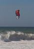 Kite Boarding on Jamala Beach, California Coast - Photo by Pat Bonish