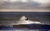 Air Time at Sunset - Kite Boarding on Jamala Beach in California - Photo by Pat Bonish