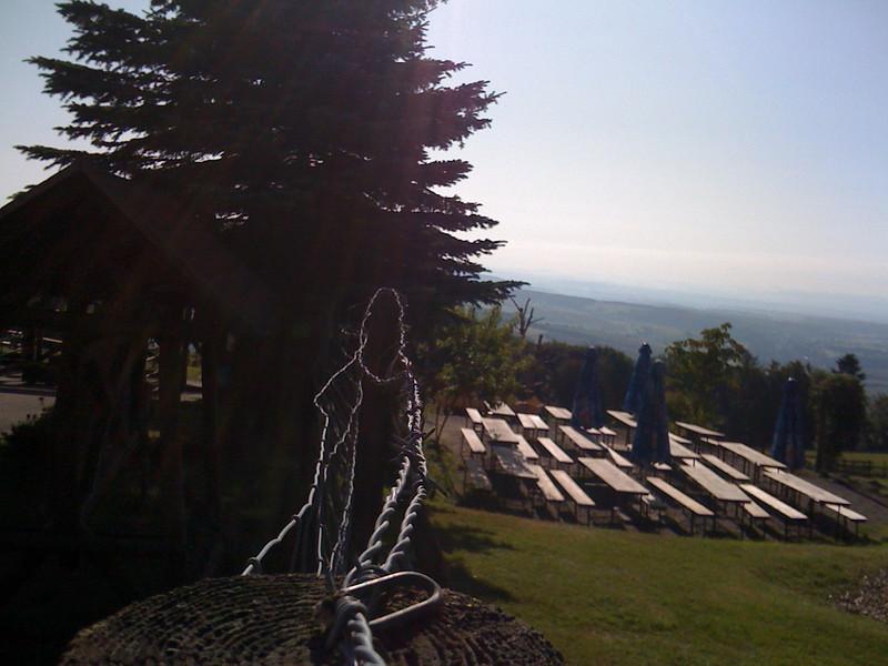 Top of Potzberg climb Germany