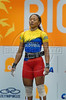 Colombia's Ana Margoth Lemus competes in the Women's 53 Kg weightlifting competition at the Pan American Games in Rio de Janeiro, Brazil, July 15, 2007. Lemus won silver medal.  (Australfoto/Renzo Gostoli)