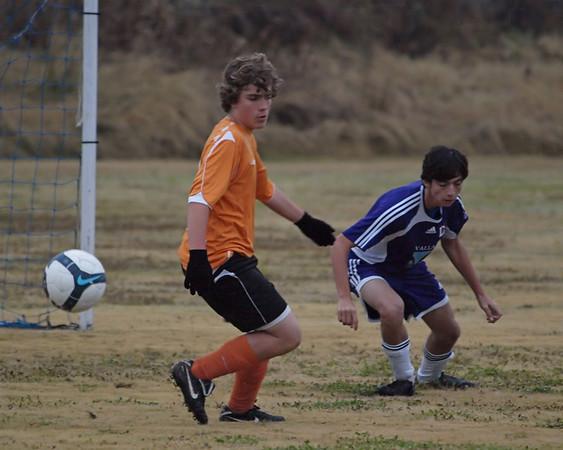 Ranger Soccer vs. S.A. Dragons 12.12.2009