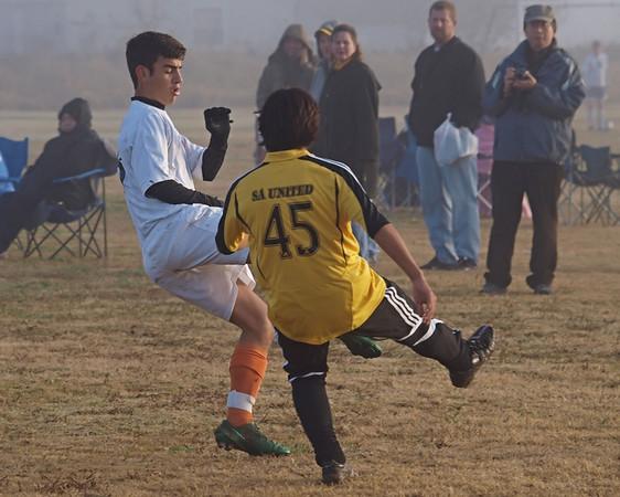 Ranger Soccer vs. S.A. United 12.13.2009