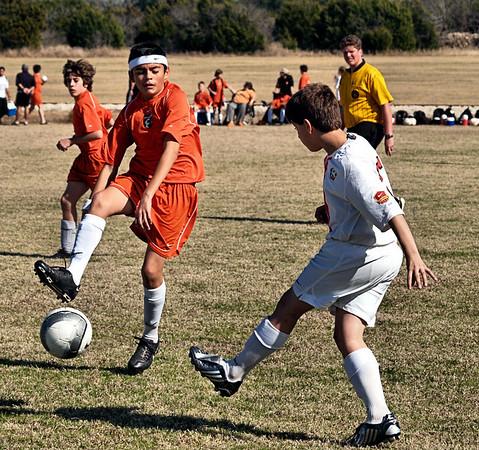 Ranger Soccer 2.2.2008 vs 96 Lonestars Red South