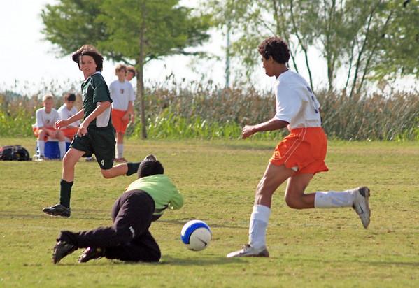 Ranger Soccer vs. Celtic and AU Caps 5.17.2008