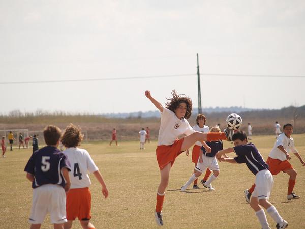 Ranger Soccer vs. S.A. Giants 3.1.2008