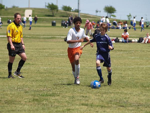 Rangers Soccer vs AU Caps 4.12.2008