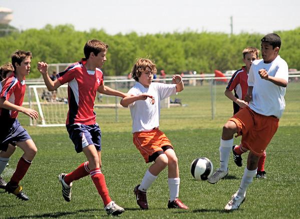 Rangers Soccer vs Boerne United 4.5.2008